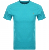 Product Image for Farah Vintage Denny Slim Marl T Shirt Blue